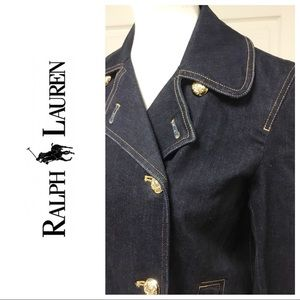 JUST IN❗️RALPH LAUREN DENIM BLAZER JACKET